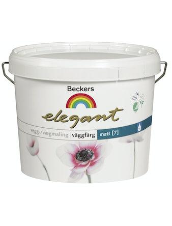 Väggfärg Beckers Elegant Helmatt Vit Bas A 2,7L