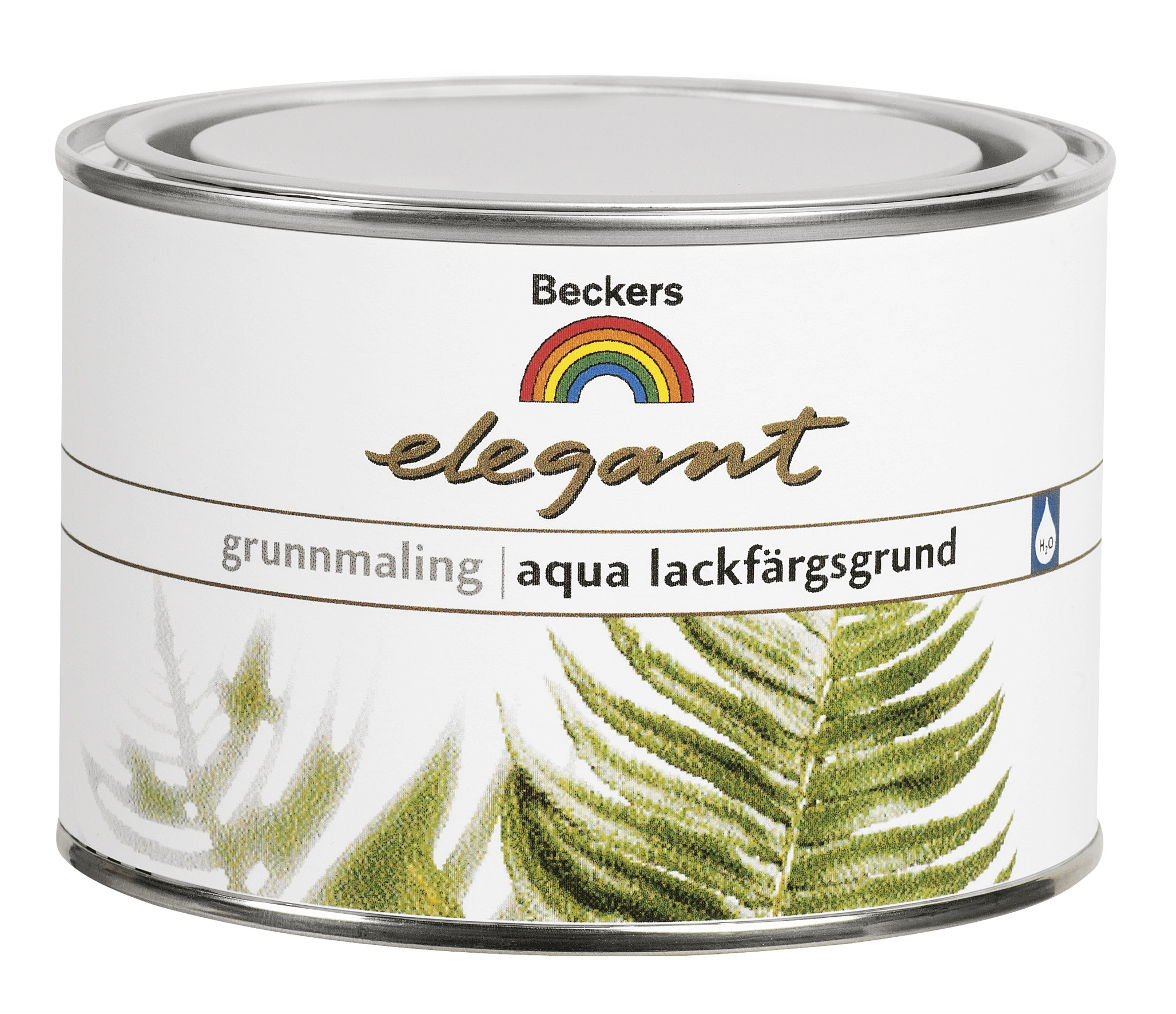 Lackfärgsgrund Beckers Aqua Elegant Vit 0,45L