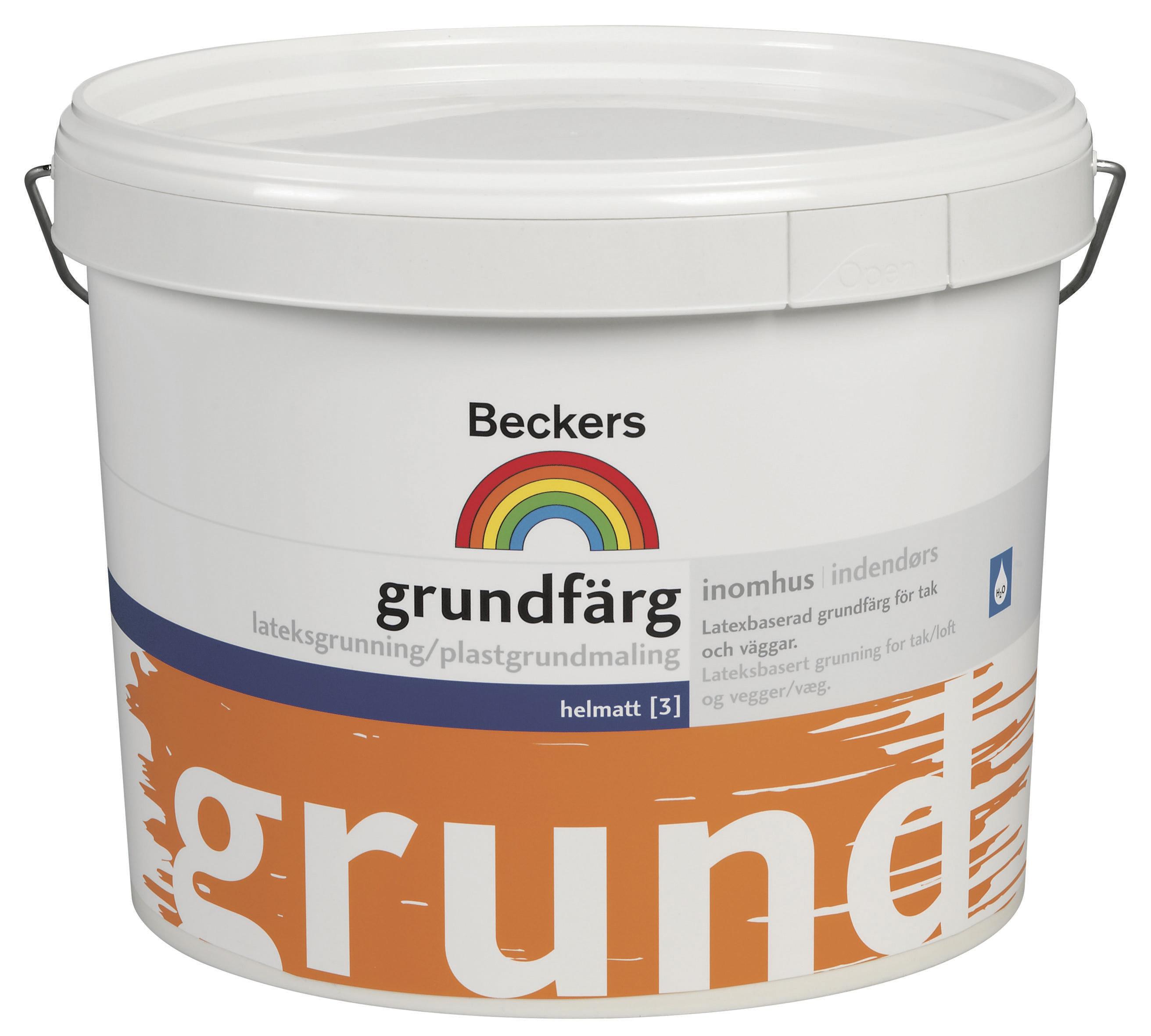 Grundfärg Beckers Helmatt Vit 10l