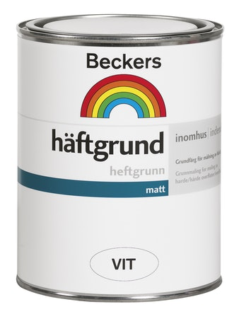Häftgrund Beckers Vit 0,9L