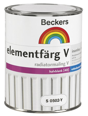 Elementfärg Beckers VS0502-Y 1L