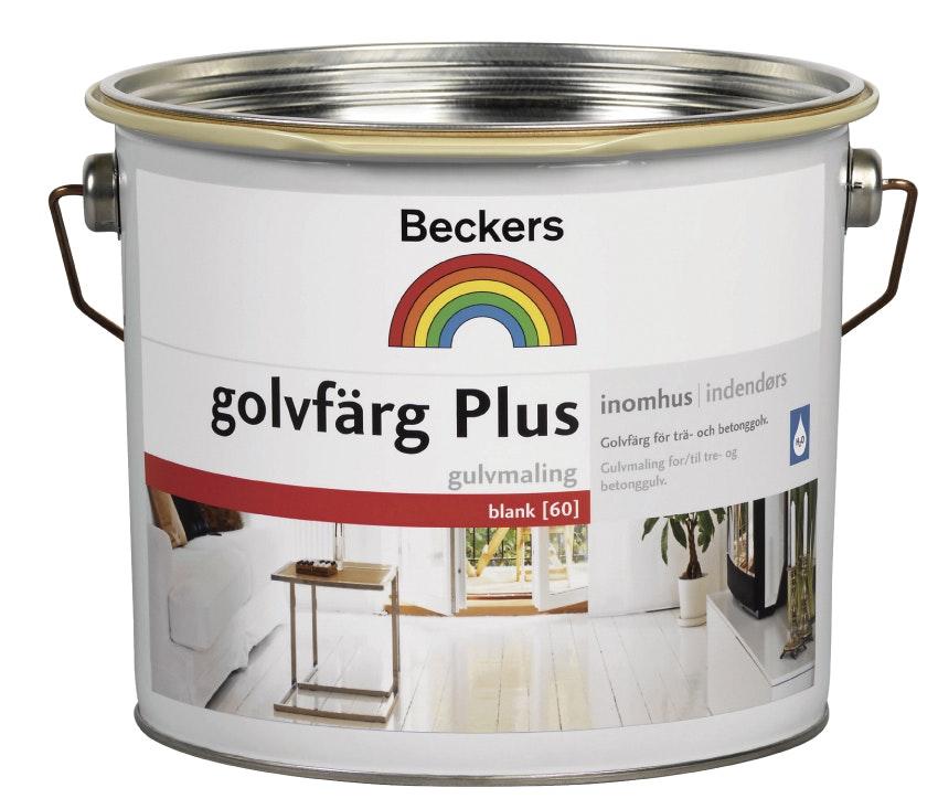 Golvfärg Beckers Plus Blank Bas A 2,7l