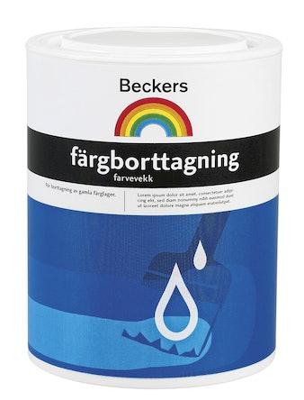 Färgborttagning Beckers 1L