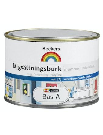 Färgsättningsburk Beckers Inne Bas C 0,45L