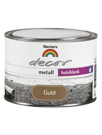 Decor Beckers Metall Guld 0,5L