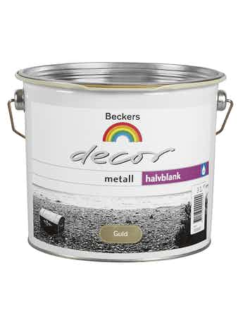 Decor Beckers Metall Guld 3L