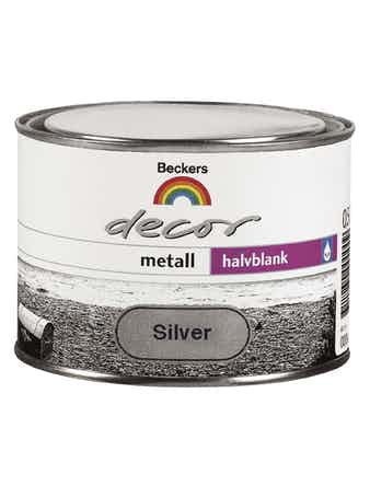 Decor Beckers Metall Silver 0,5L