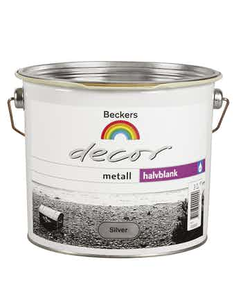 Decor Beckers Metall Silver 3L