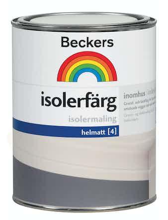 Isolerfärg Beckers Vit 1L