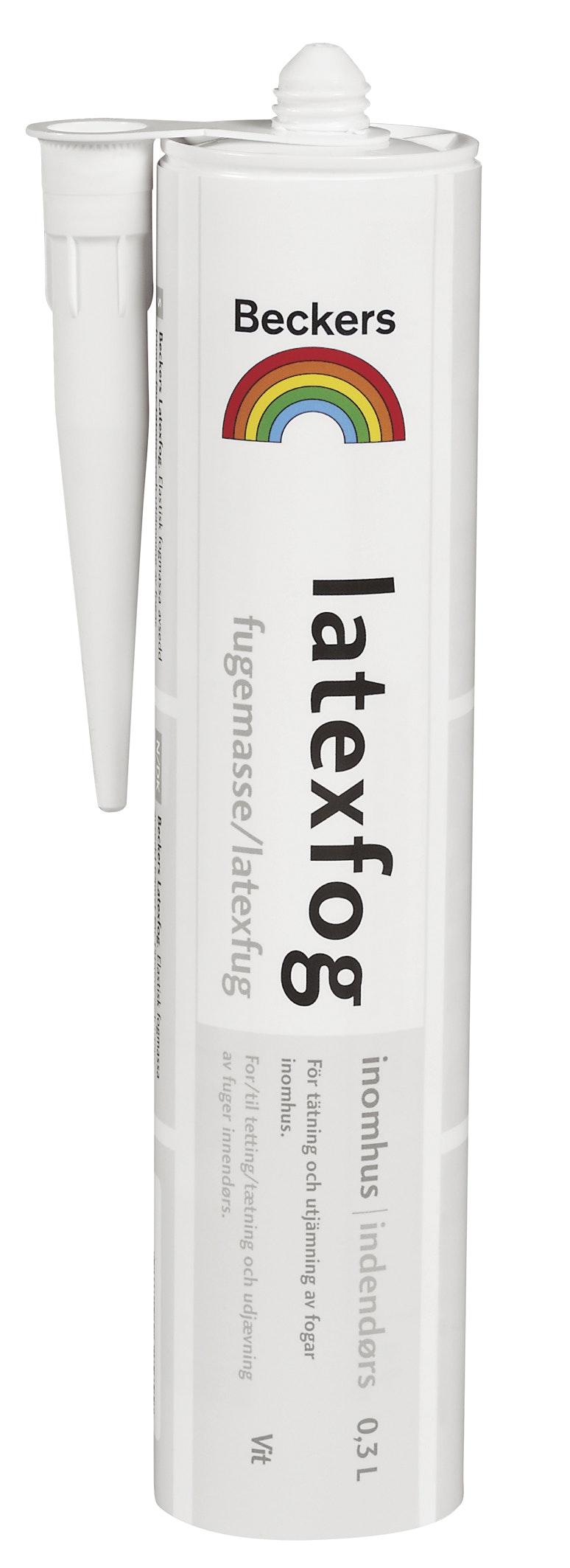 Latexfog Beckers Vit 0,3L