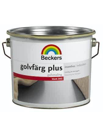 Golvfärg Beckers Plus 513 Grå 10L