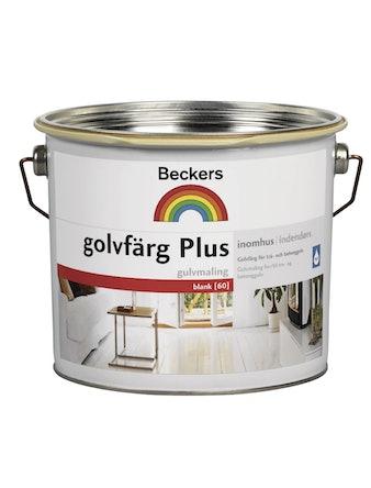 Golvfärg Beckers Plus 1 Vit 3L