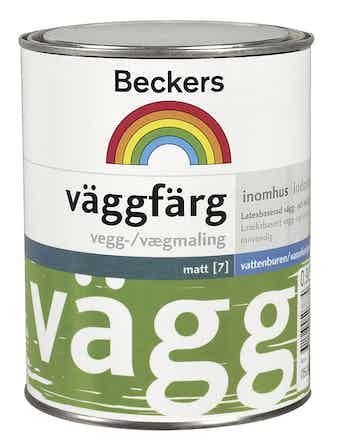 Väggfärg Beckers Matt Bas A 0,9L