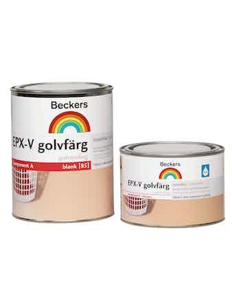 Golvfärg Beckers Epx-V Komponent Bas A 0,66L