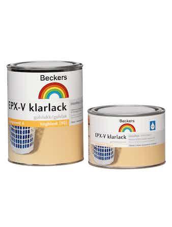 Klarlack Beckers Epx-V Komponent A 0,57L