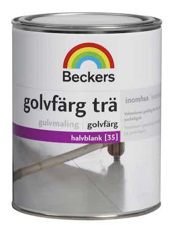 Golvfärg Beckers Trä Bas A 0,9L