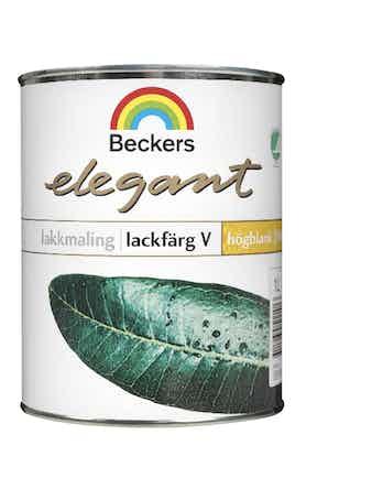 Lackfärg Beckers Elegant Högblank Vattebaserad Bas C 0,9L