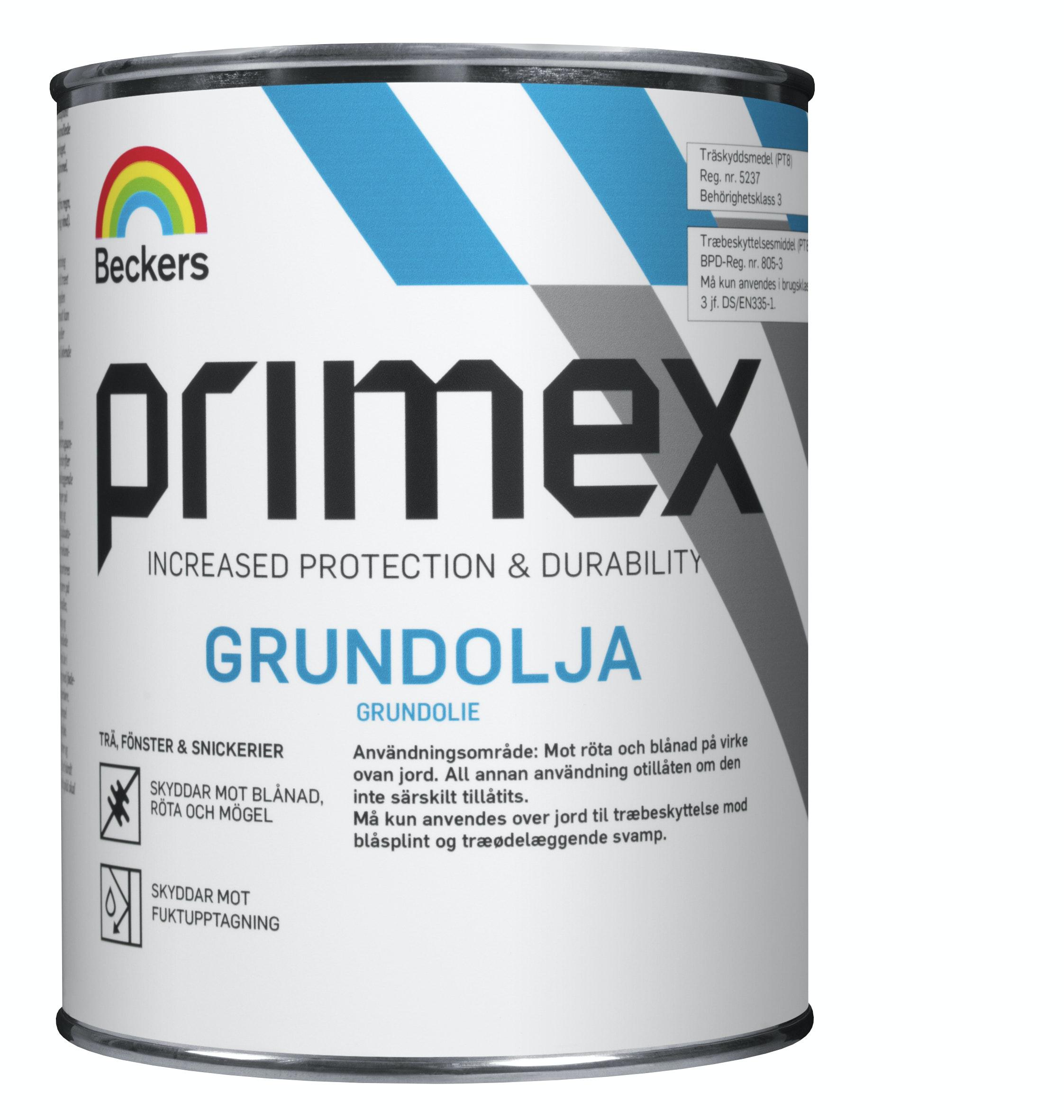 Grundolja Beckers Primex 0,45l
