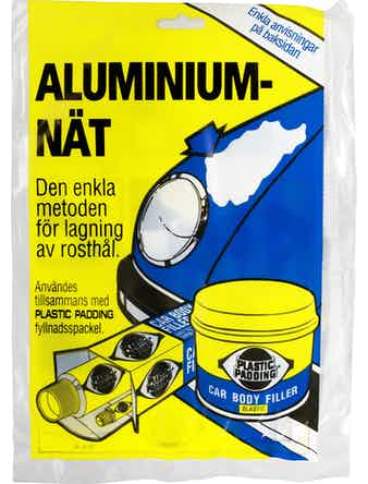 Aluminiumnät Plastic Padding 42