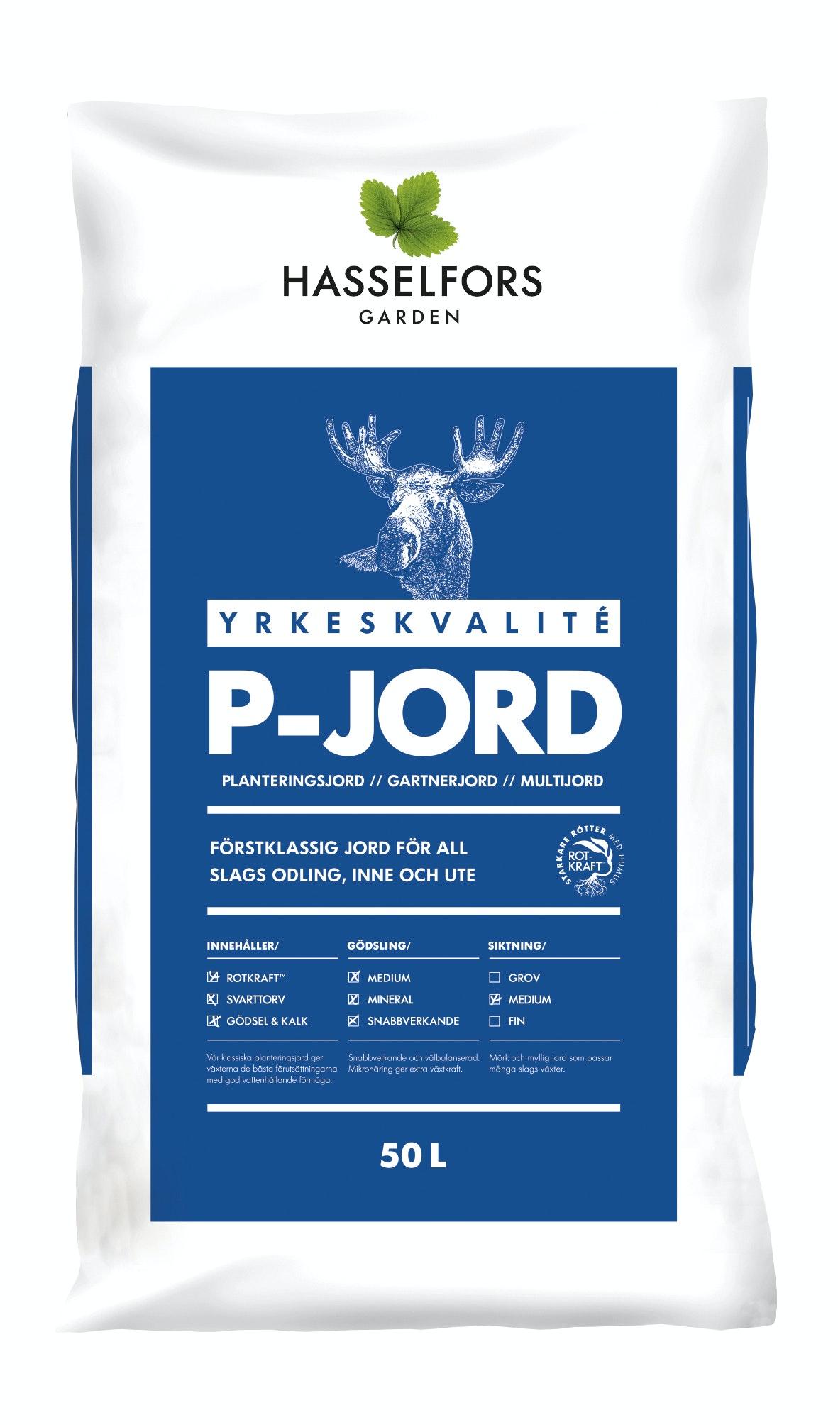 Jord P Hasselfors 50L