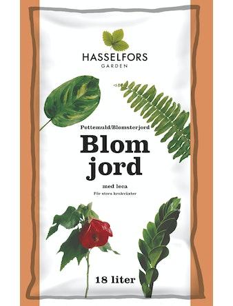 Blomjord Hasselfors 18 l Med Leca