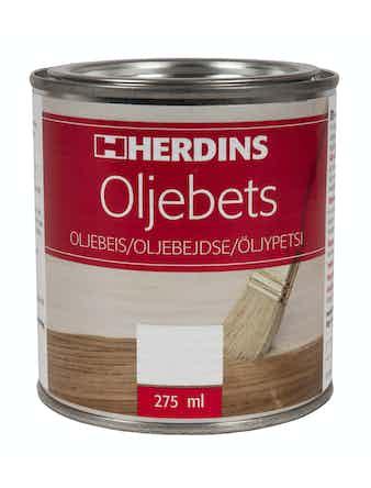 Oljebets Herdins 911 Mellanbrun 275ml