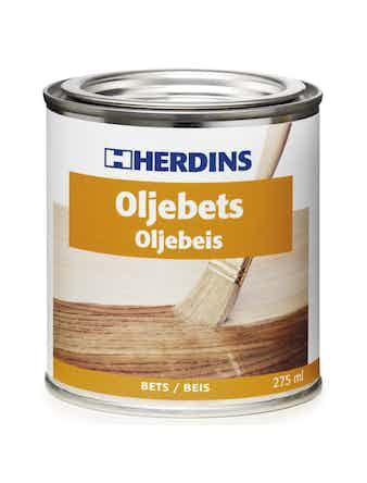 Oljebets Herdins 913 Mahognybrun 275ml