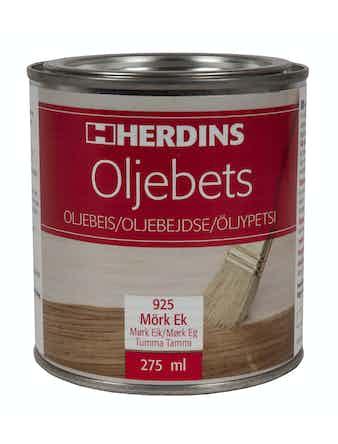 Oljebets Herdins 925 Mörk Ek 275ml