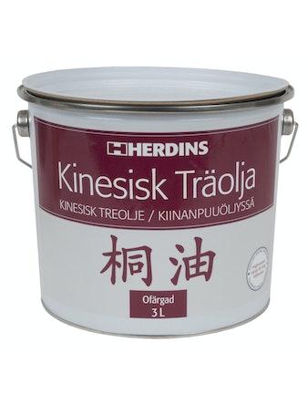 Kinesisk Herdins Träolja 3l