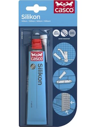 Silikon Casco Svart 40ml