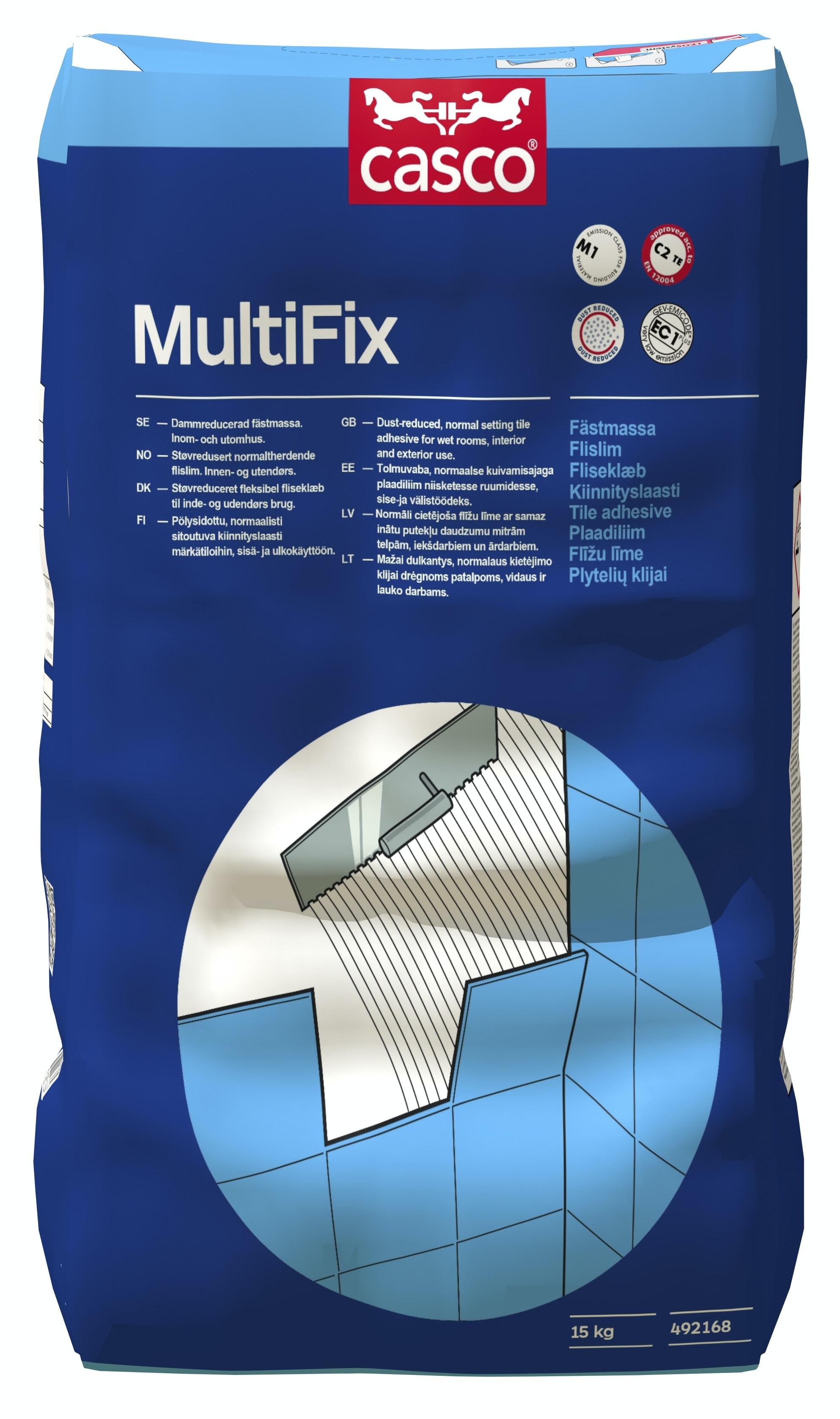 Fästmassa Casco MultiFix   Grå 15kg