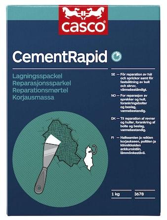Lagningsmassa Casco Cement Rapid 1kg