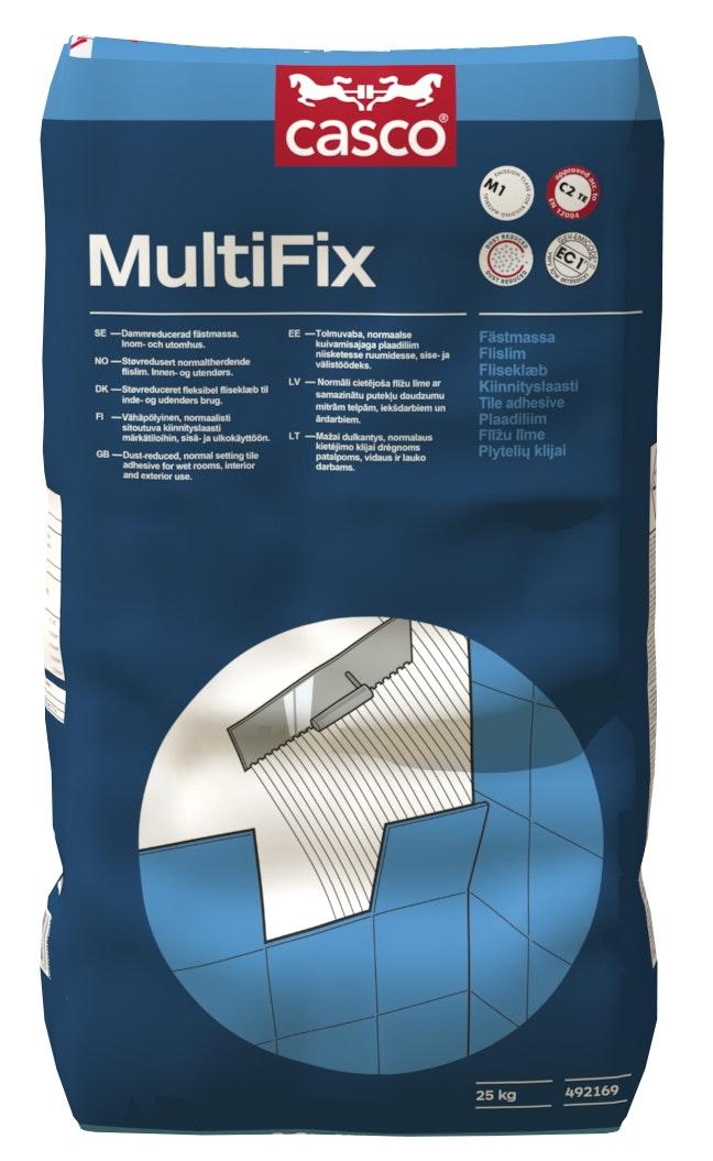 Fästmassa Casco MultiFix   Grå 25kg