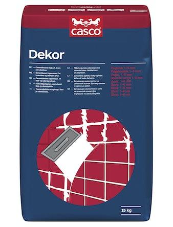 Kakelfog Casco Dekor ljusgrå 15kg