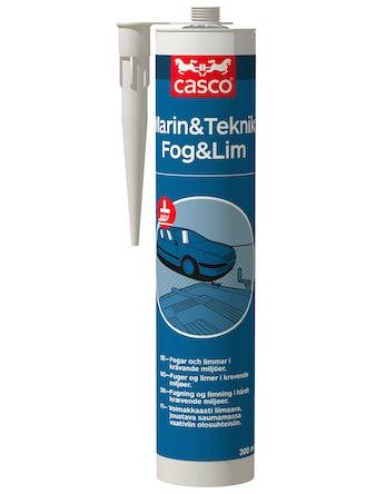 Lim/Tätningsmassa Casco Marin/Teknik Svart 300ml