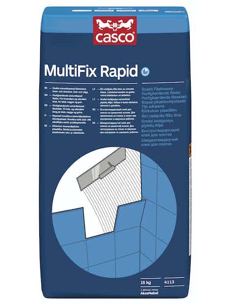 KIINNITYSLAASTI CASCO MULTIFIX RAPID 4113 25KG