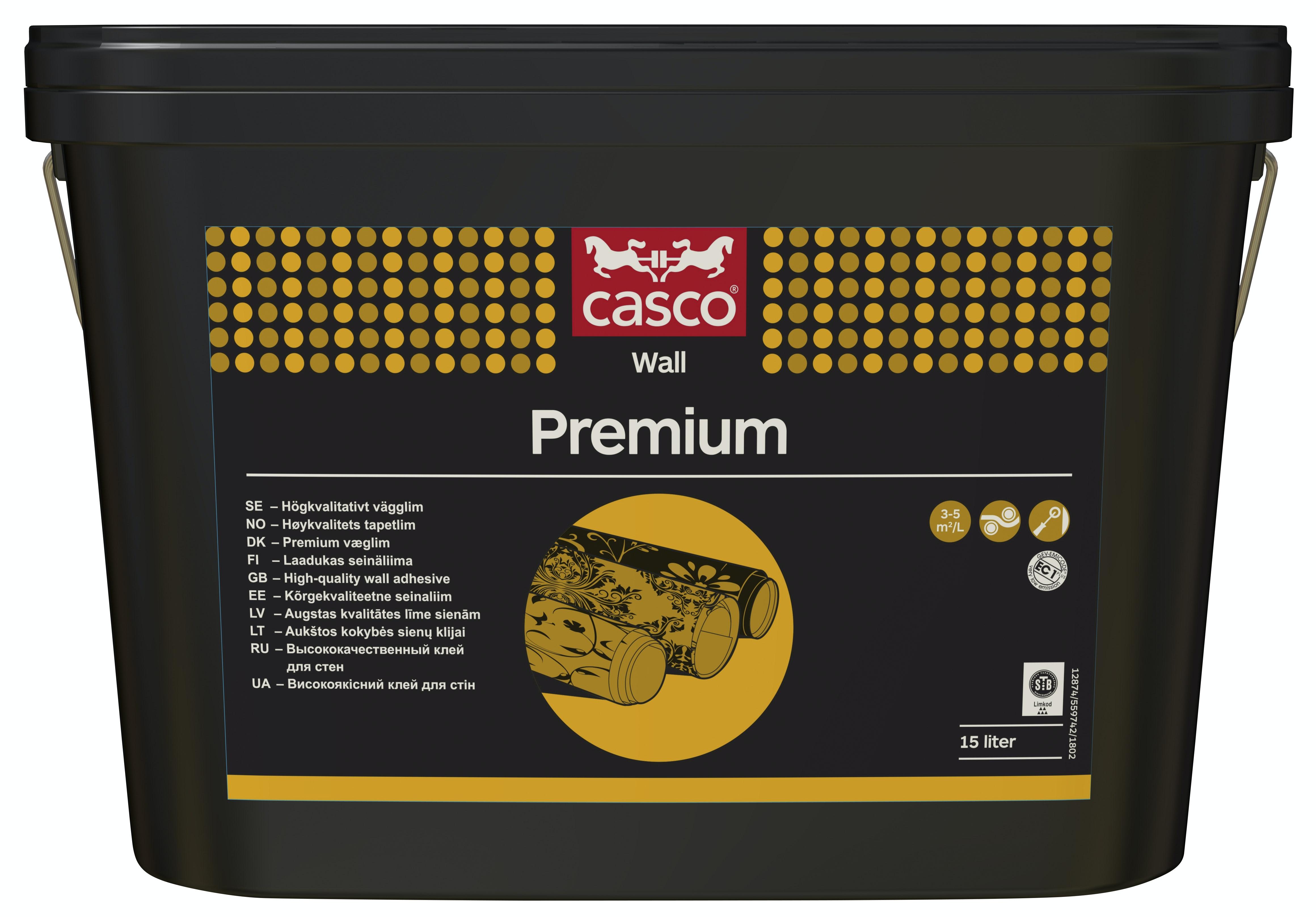 VäggLim Casco Premium 15l