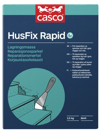 Spackel Casco Snabb Husfix Rapid