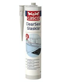 LIIMAUS- JA SAUMAUSMASSA CASCO CLEARSEAL VÄRITÖN 0,3L 4067