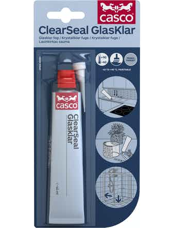 Lim/Tätningsmassa Casco Clearseal 40ml Casco
