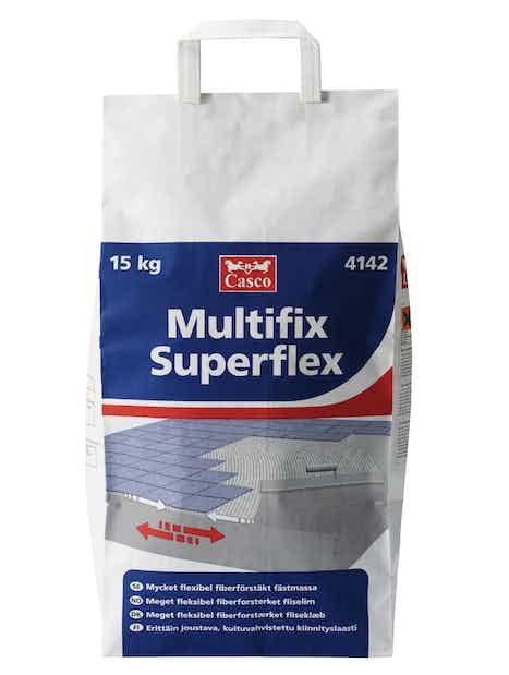 KIINNITYSLAASTI CASCO MULTIFIX SUPERFLEX 15KG