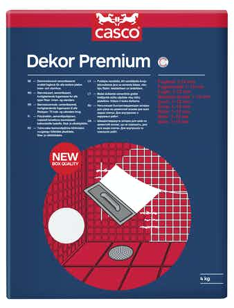 Fog Casco Dekor Premium vit 1kg