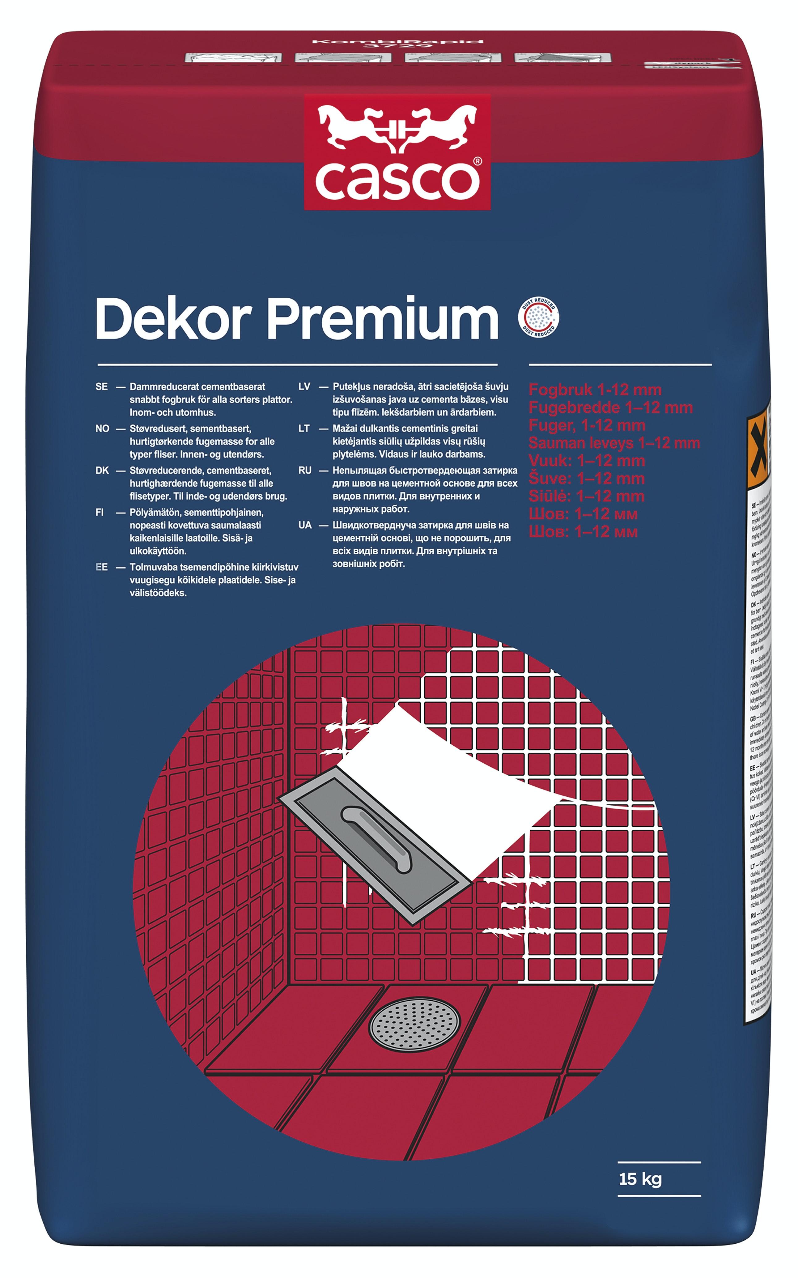 Fog Casco Dekor Premium Grå 15kg