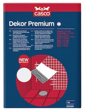 Fog Casco Dekor Premium Mörkgrå 1kg
