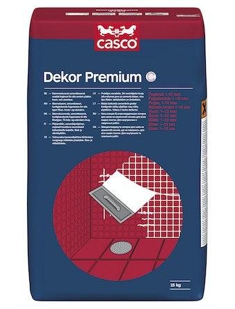 Fog Casco Dekor Premium Mörkgrå 15kg