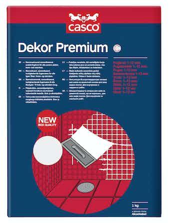 Fog Casco Dekor Premium Grafit 1kg