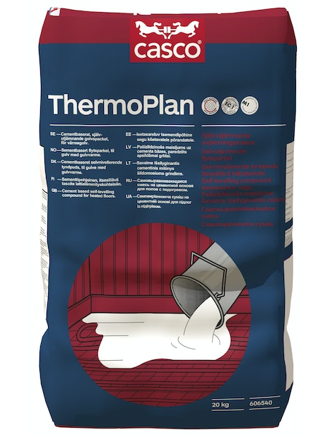 LATTIATASOITE CASCO THERMOPLAN DUST REDUCED 25KG PÖLYTÖN