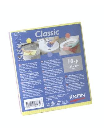 Svampduk Kron Classic 18X20cm 10-Pack 12207
