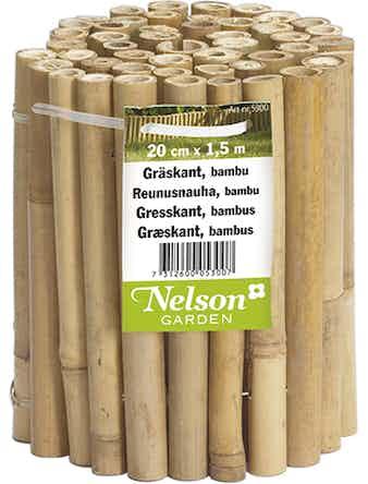 Gräskant Nelson Garden Bambu 20cmX1,5m