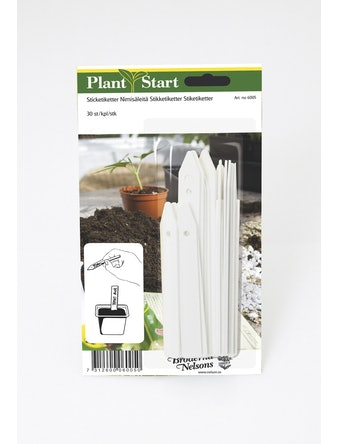 Etiketter Nelson Garden Plantstart Vita 30-Pack